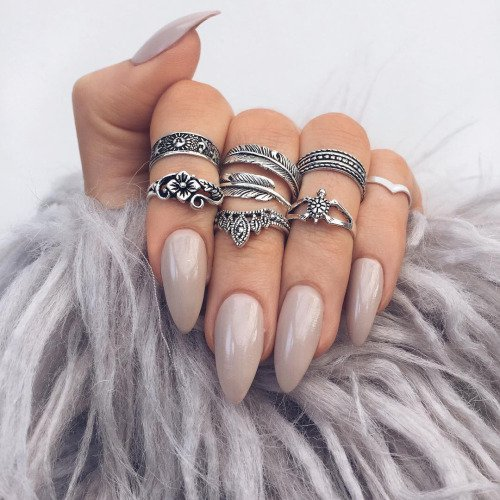 How To Combine Rings For Best Boho Look