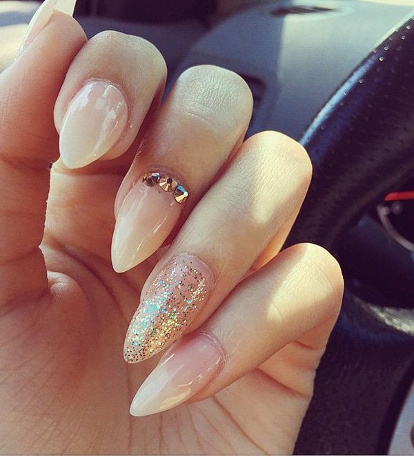 Almond Nails Shape That Exudes Confidence