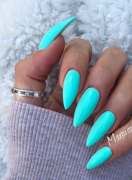 Almond Nails:  Shape That Exudes Confidence