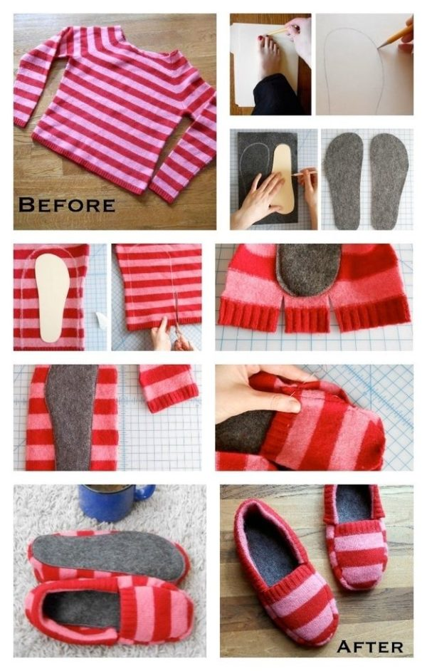 Clothing Hacks: 10 Ways To Use Your Old Sweater