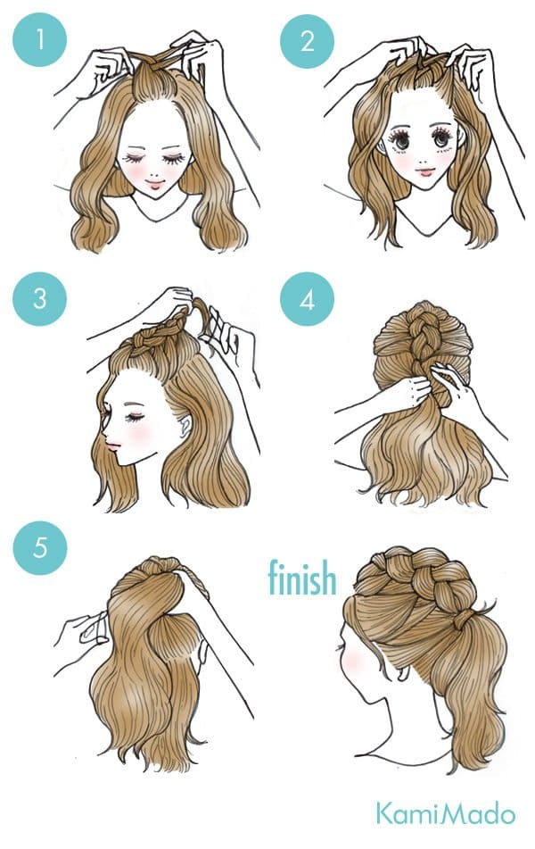 Every Occasion Hairstyles' Tutorials – No Needed More Than 5 Minutes