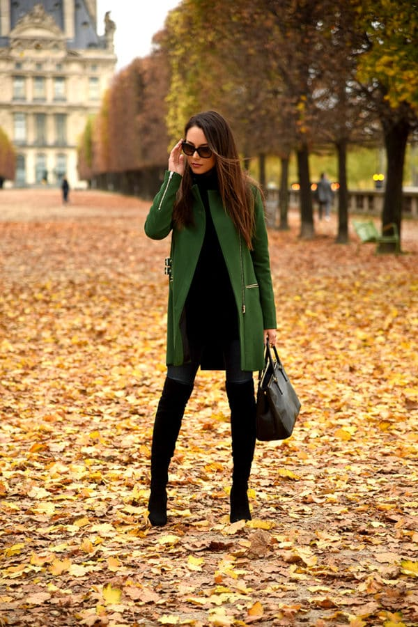 Be Cool In The Coolest Color This Season: Emerald Green