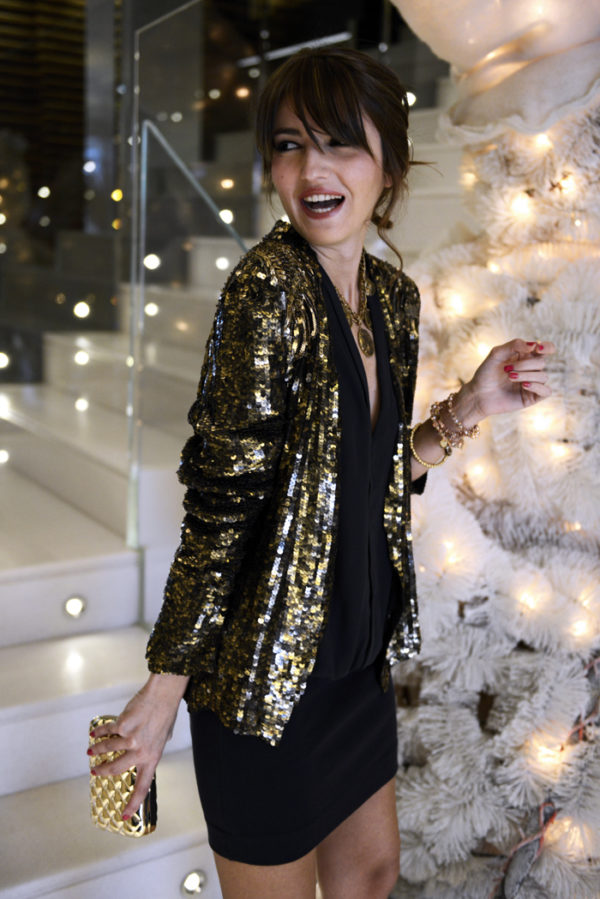New Festive Fashion Trend   Sequin, Glittered Clothes