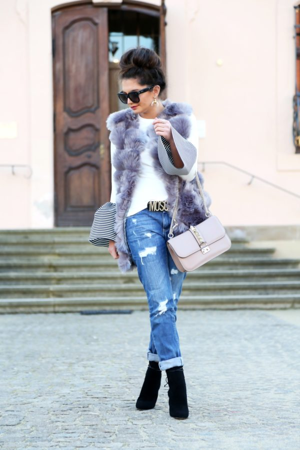 Fur Vest  A Must Have Piece In Every Girl's Wardrobe
