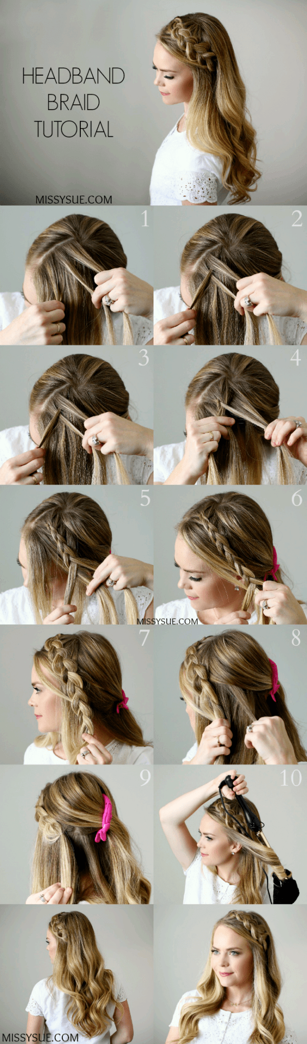 Ready in 5 Minutes: Easy Hairstyles For Trendy Girls