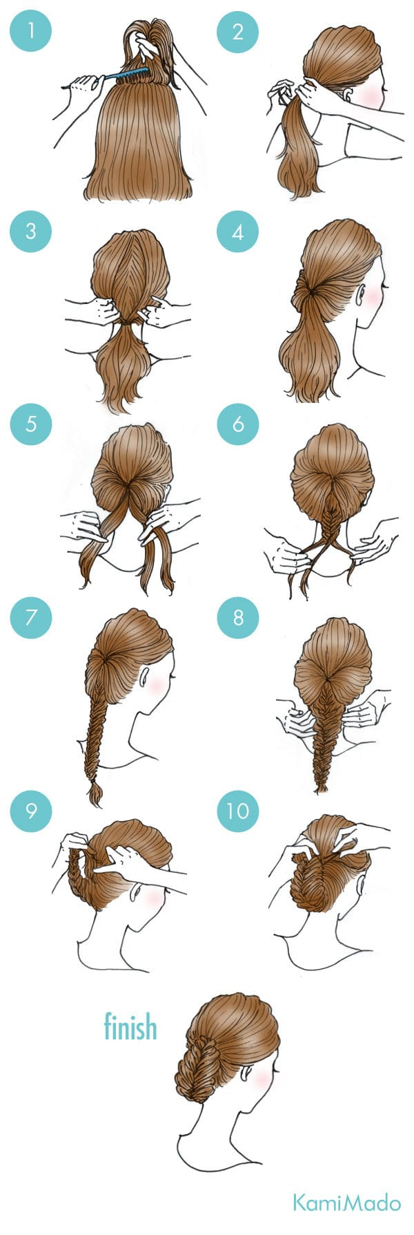A few Steps To Do Your Hair And Look Like A Goddess
