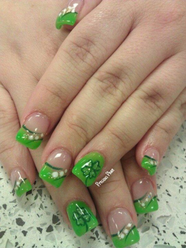16 easy yet incredibly cool st patricks day nails designs