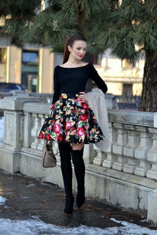 A New Fashion Trend  Florals Clothes