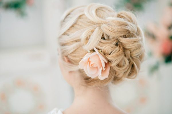 Floral Wedding Updo Hairstyles You'd Love
