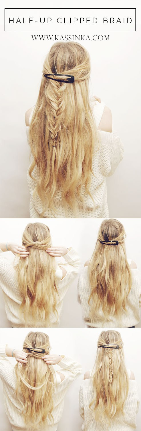 Fresh DIY Ideas For Fast Hairstyle That You Should See