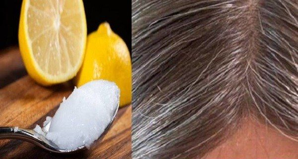A Totally Natural Miracle, Coconut Oil Mixed With Lemon   Brings Back Your Gray Hair Into Natural Color