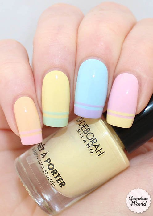 14 Soft Pastel Nails Art Ideas For Spring Time