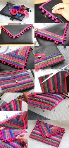 Magnificent Transformation Of The Old Worn Out Handbags Bags In New Chic Pieces.8 DIY Handbags Projects