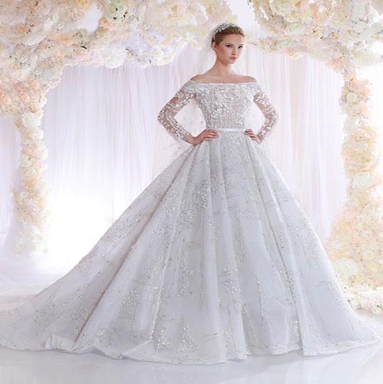 Get Ready To Fall In Love: The New Zaid Nakad's Romantic Wedding Dresses Don't Leave Any Woman Indifferent