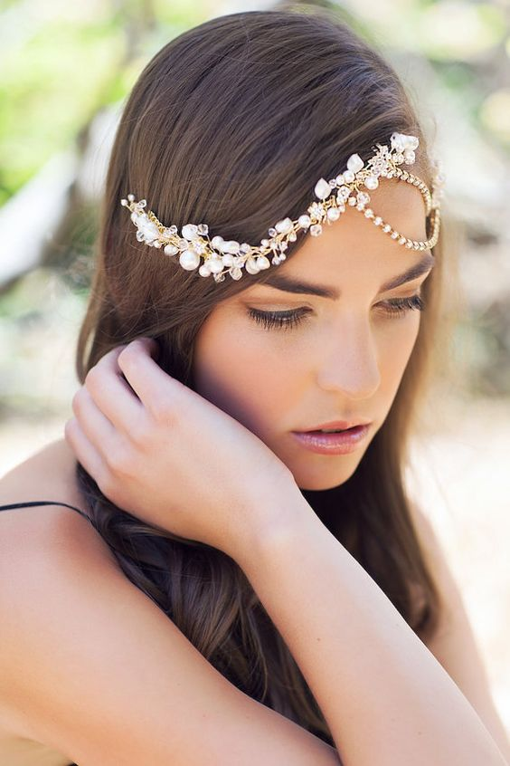 Amazing 12 Collection Of Accessories For Bridal Hairstyles