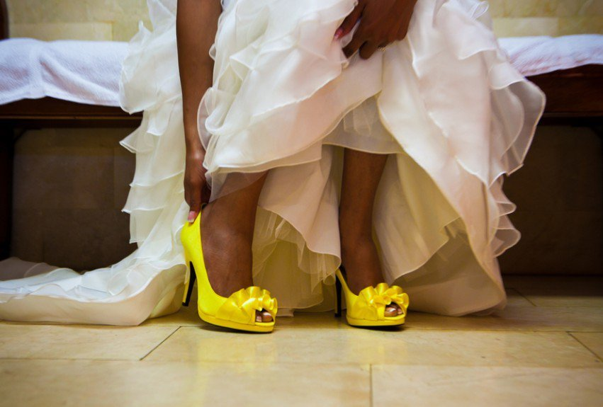 Colored Wedding Shoes   Modern, Unusuall, Practic And Chic
