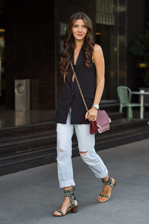 20 Fashion Combinations That Proves Why Sleeveless Jacket Is The New Must Have Piece In Your Wardrobe