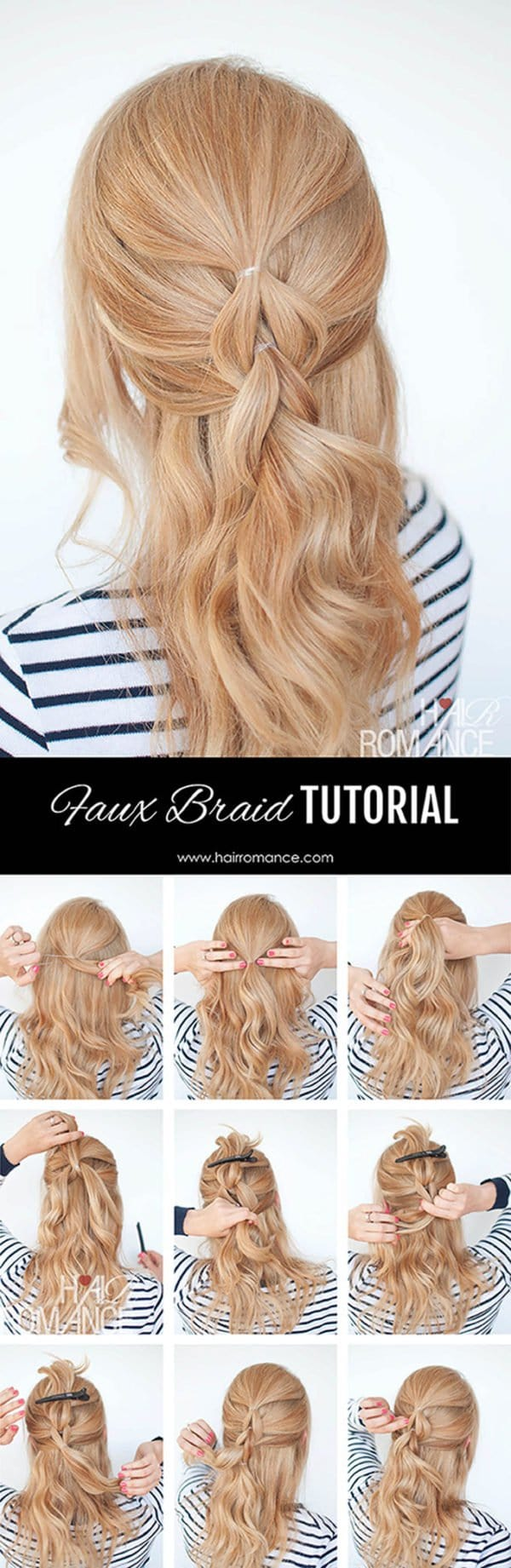 10 Elegant Hairstyles Tutorials That You Will Adore This Summer
