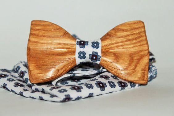 New Man Trend Alert To Impress: Wooden Bow Tie