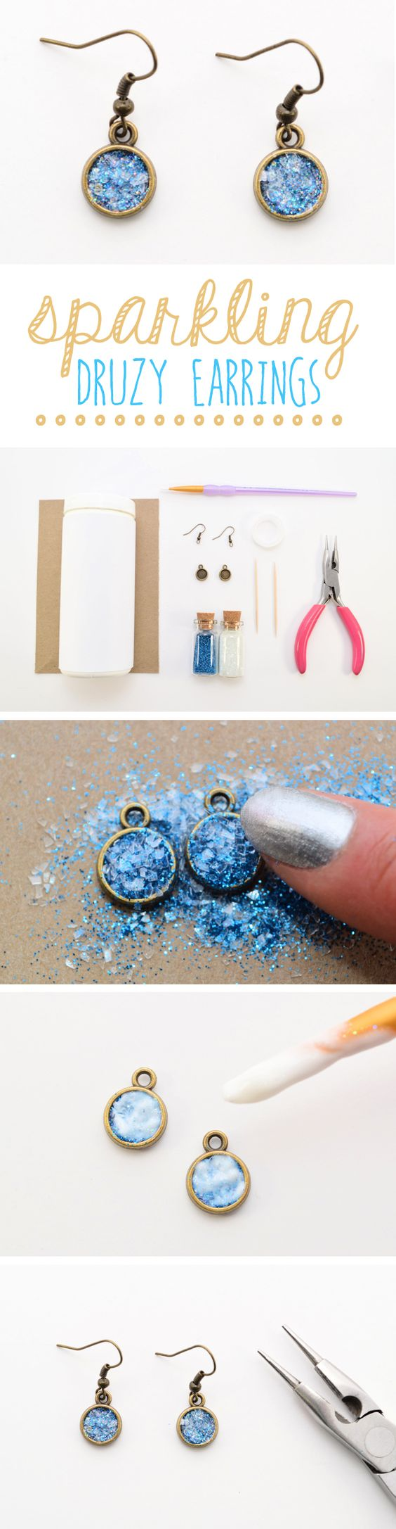 Step By Step Tutorials To Make Your Dream Earrings