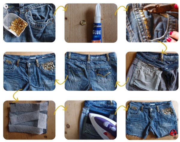 Easy DIY Tutorials To Transform Your Old Denim Shorts Into Modern Piece Of Clothes That Can Be Worn This Summer