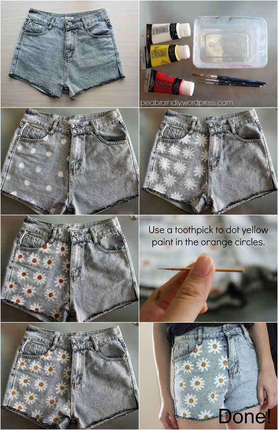 Easy Diy Tutorials To Transform Your Old Denim Shorts Into
