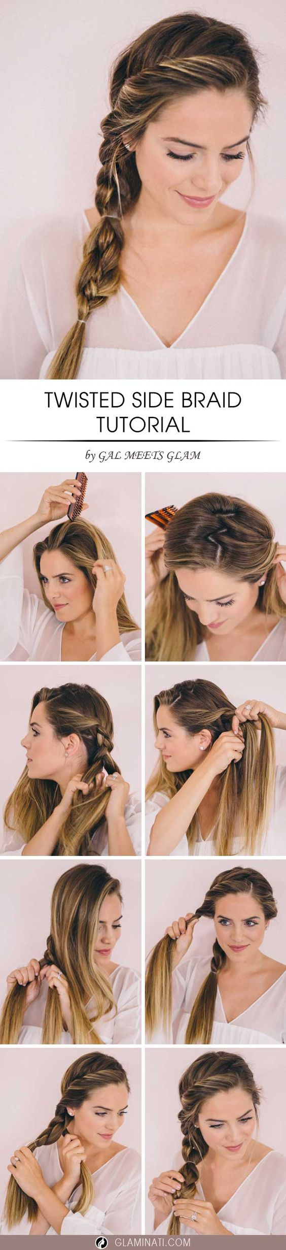 Easy Step By Step Hairstyle Tutorials You Can Do For Less Than 5 Minutes