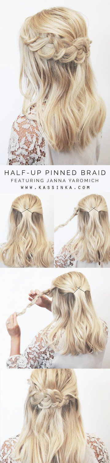 Perfect DIY Hairstyles For Stunning Look On Your Next Party
