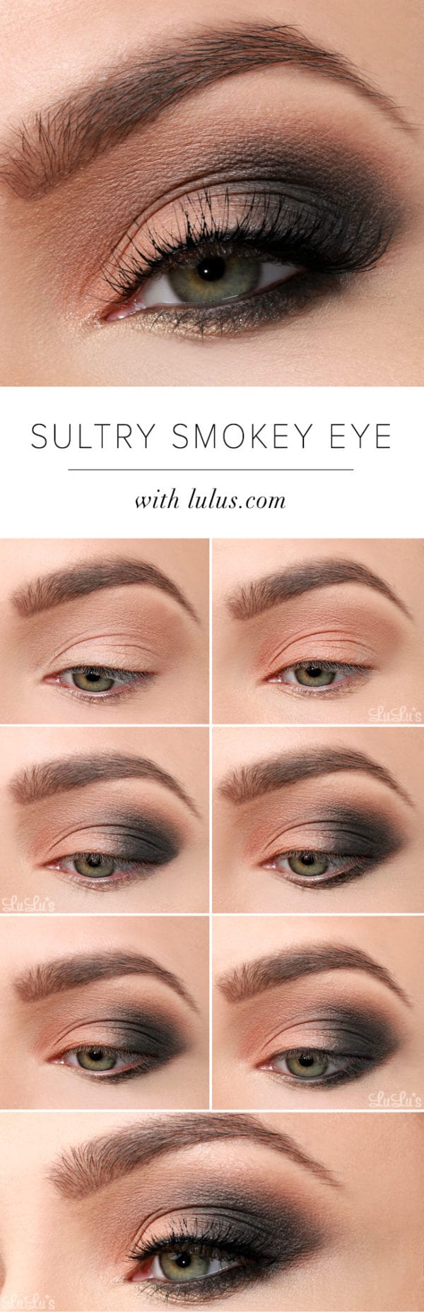 The Best Step By Step Tutorials For Perfect Smokey Eyes Make Up