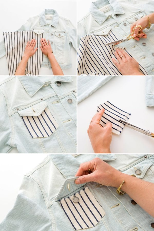 The Best DIY Ways To Upgrade Your Old Denim Jacket Into A Unique Part Of Your Spring Outfit