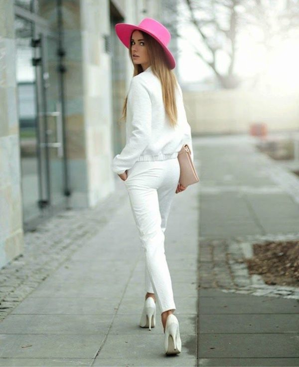 How To Wear All White Outfits And Look Stunning