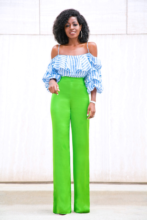 Get Ready For The Newest Spring Fashion Trend: Wide leg Pants That No Woman Can Resiste