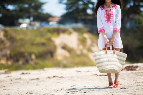 Chic And Modern On The Beach : The Best Beach Bags Choices For Summer 2017