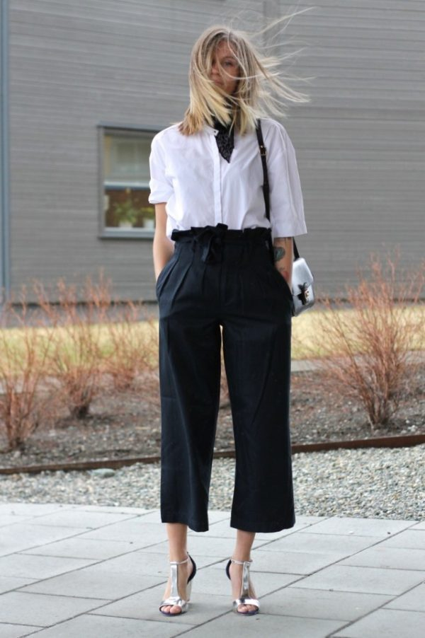 Trend Alert 2017: Cropped Wide Leg Pants For A WOW Look