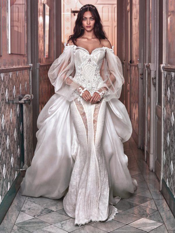 Galia Lahav Spring 2018 Wedding DressesVictorian Affinity Bridal Campaign