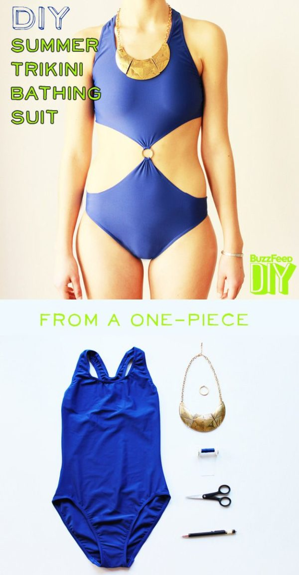10 Creative DIY Swimsuits To Be Unique On The Beach This Summer
