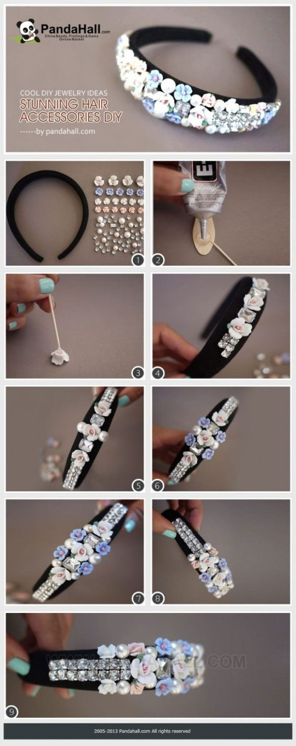 The Most Creative  DIY Hair Accessories That Are So Easy To Be Done