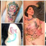 Touching Mother And Daughter Tattoos That Will Melt Your Hearts