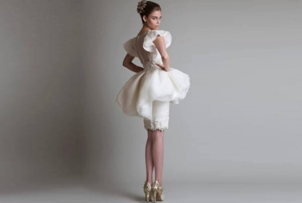 Fall In Love With Short Wedding Dresses