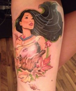 Disney Inspired Tattooes To Wake Up Your Childhood Memories