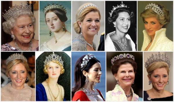 All About British Royals Glittering Jewellery