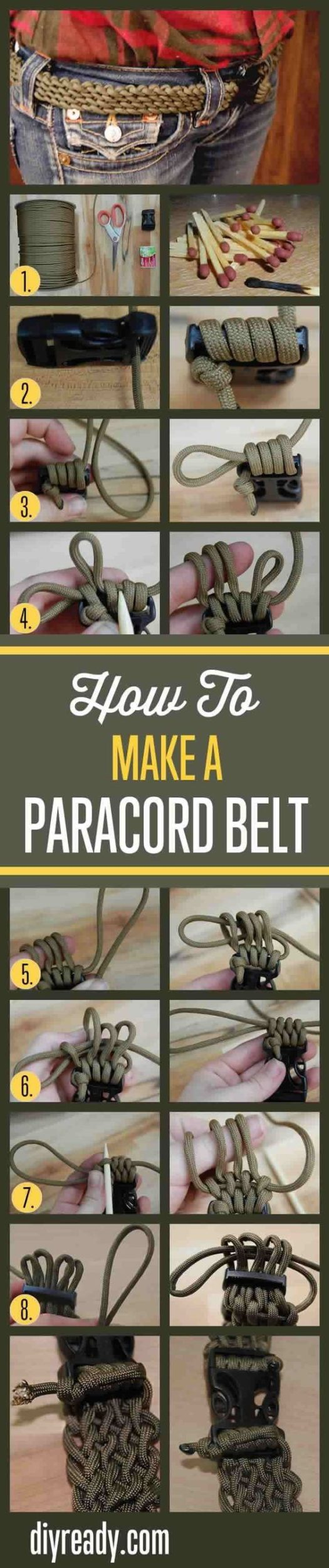 Funny And Easy Step By Step Tutorials To DIY A Belt For Every Occasion