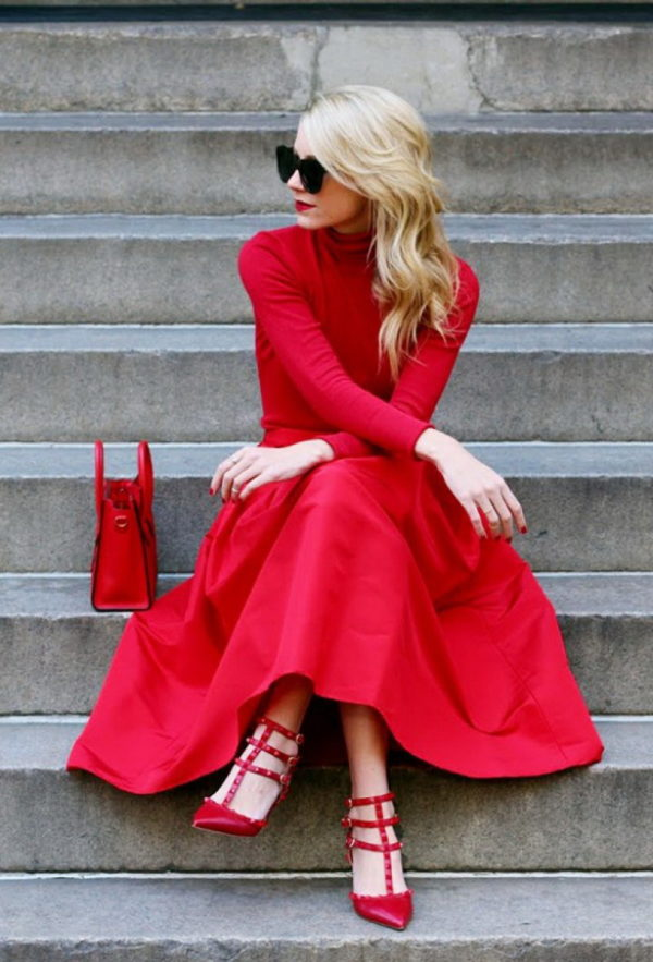 Red, Red, Red... Color Yoursefl With The Color Of Passion This Fall/ Winter 2017