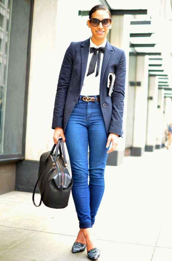 Woman Tie Fashion Trend To Look Masculine, And Feel Feminine