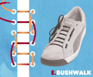 Interesting Ways To Tie Shoelaces  And Pass Out The Borring Shoelace Tehniques