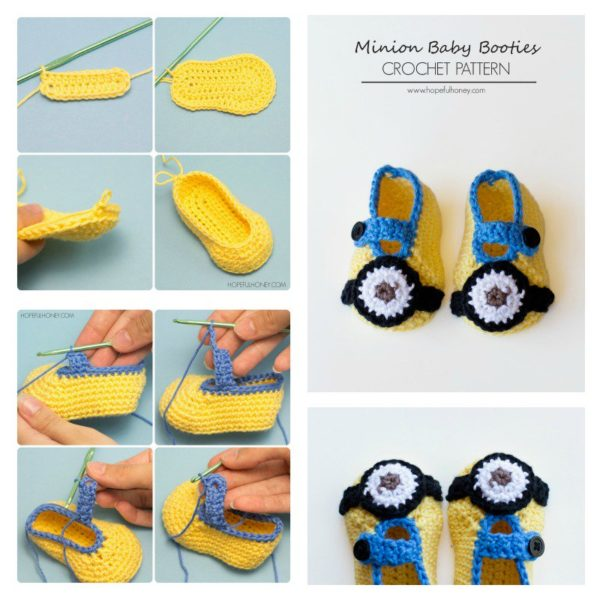 Adorable DIY Hand Knitted Baby Booties To Completely Enjoy The Winter Magic