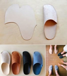 DIY Slippers To Warm Your Toes This Cold Winter