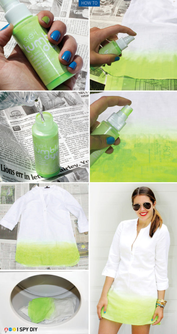 The Best DIY Ombre Tehniques To Transform Your Boring Old Clothes Into An Artistic Masterpiece
