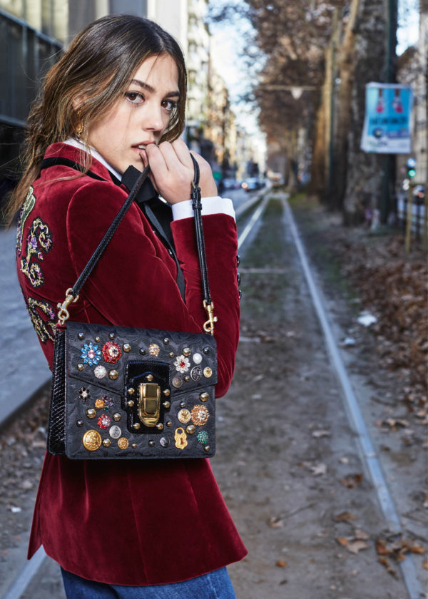 Glamour And Sophistication, Two Words Synonyms ToThe Newest Fall/Winter 2017/2018 D&G Handbag Collection