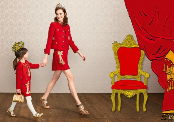 Mini Me  Dolce & Gabbana Family Matching Outfit Collections For Perfect Look Of The Whole Family